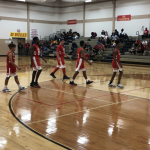 Lake Belton 7th Grade Basketball Results vs Lamar