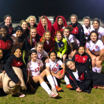 Lady Tiger Soccer's JV Red beats Ellison 8-1 in a cold one