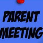 Baseball 2020 Parent Meeting