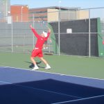 Tiger Tennis at College Station Tournament
