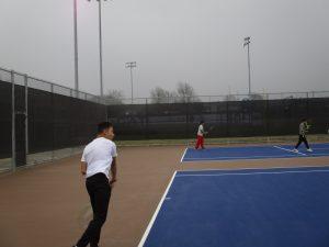 Freshman Tennis at Temple