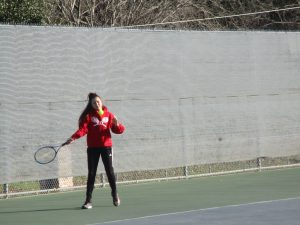 Tiger Tennis Corsicana Varsity Tournament