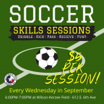 Soccer Skills Sessions Ages 7-12