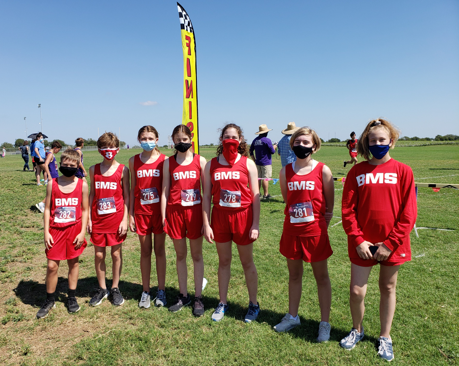 Coed 8th Grade Cross Country