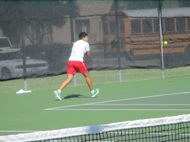 Tiger Tennis vs. A&M Consol