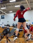 JV volleyball loses close comeback match