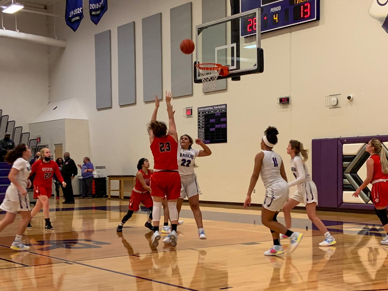 Girls Basketball: JV Girls Battle and Fight, but fall to Cedar Ridge