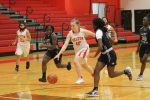 Freshmen struggle offensively as Lady Tigers fall to Shoemaker, 37-15