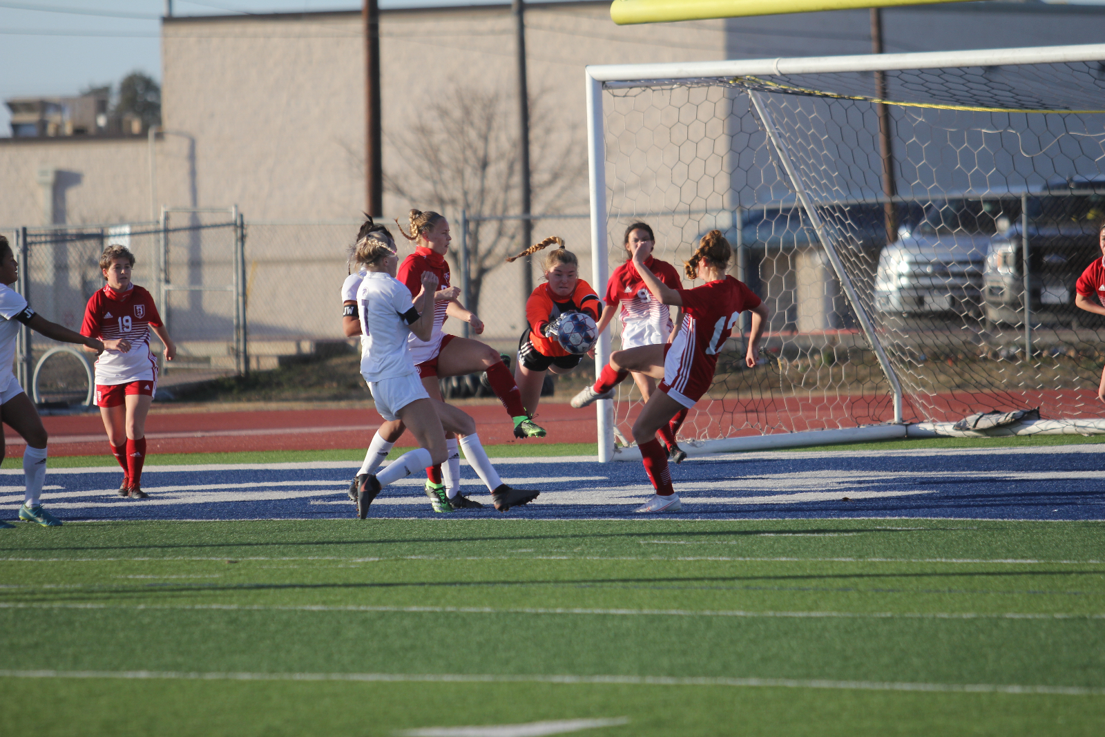 Chaos leads to calm: Lady Tigers, Liberty Hill end in scoreless draw