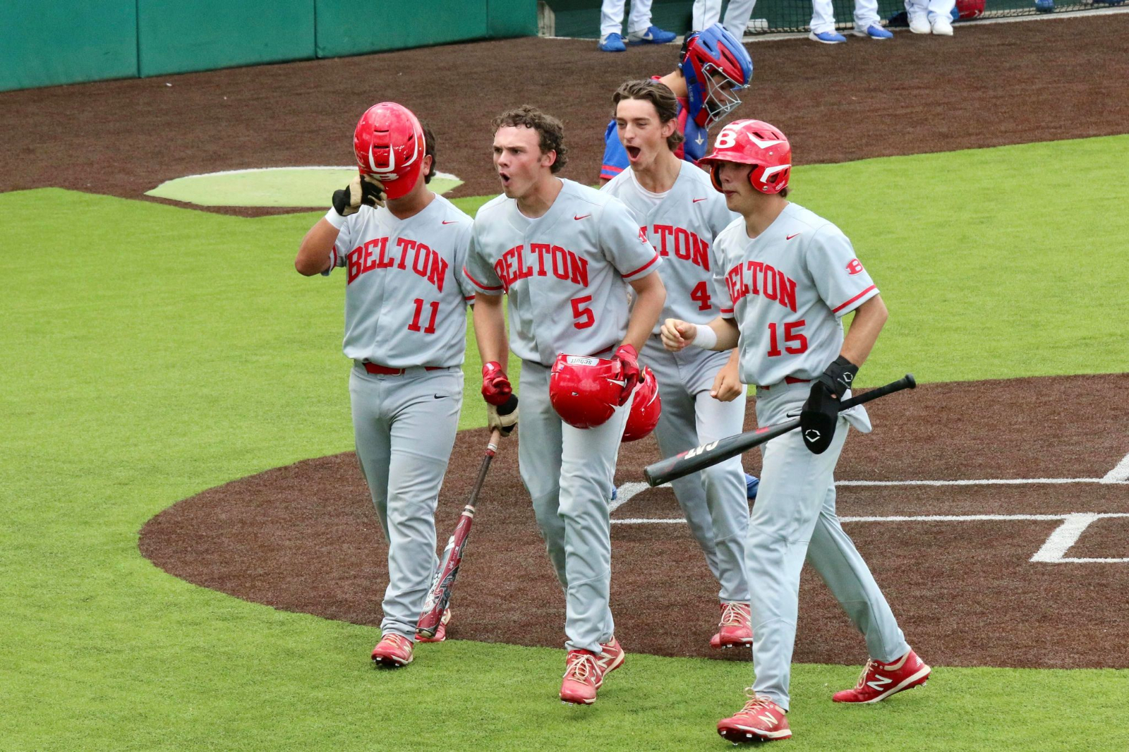 Jones' three-run blast highlights six-run rally in seventh; Belton emerges with Bi-District Championship with 7-3 win at Duncanville