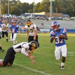 Cleveland High School Freshman Football beat McMinn County Freshmen 27-21
