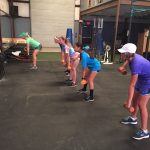 Girls Golf Hits the Weight Room