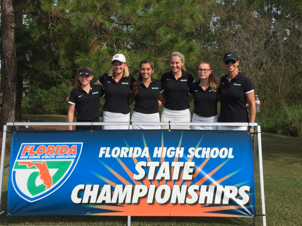 Girls Golf Places 6th in State Finals