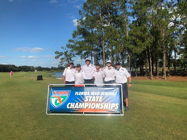 Boys' Golf Places 3rd in State Match