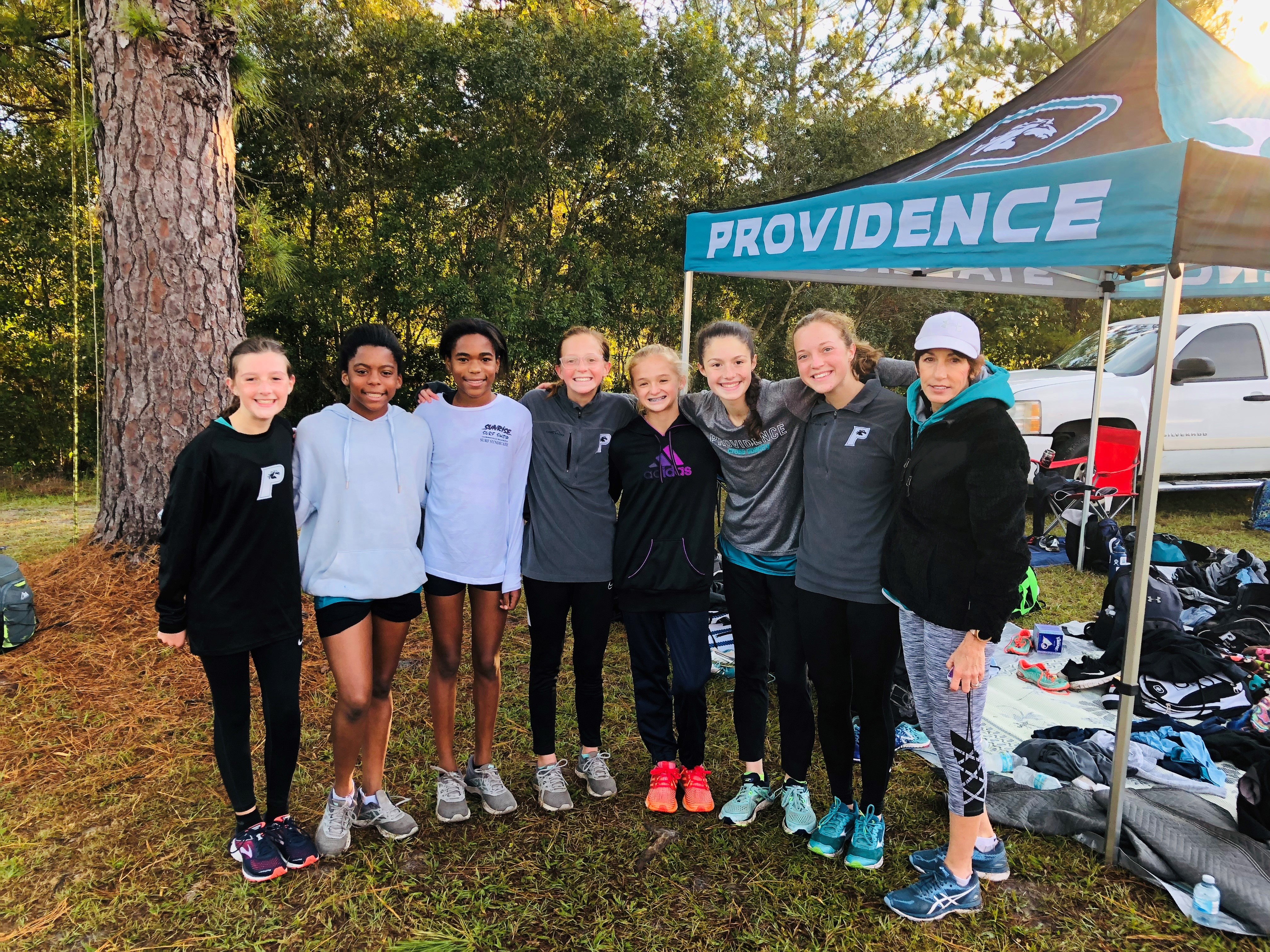 Varsity Girls' Cross Country Places 5th in Region 1