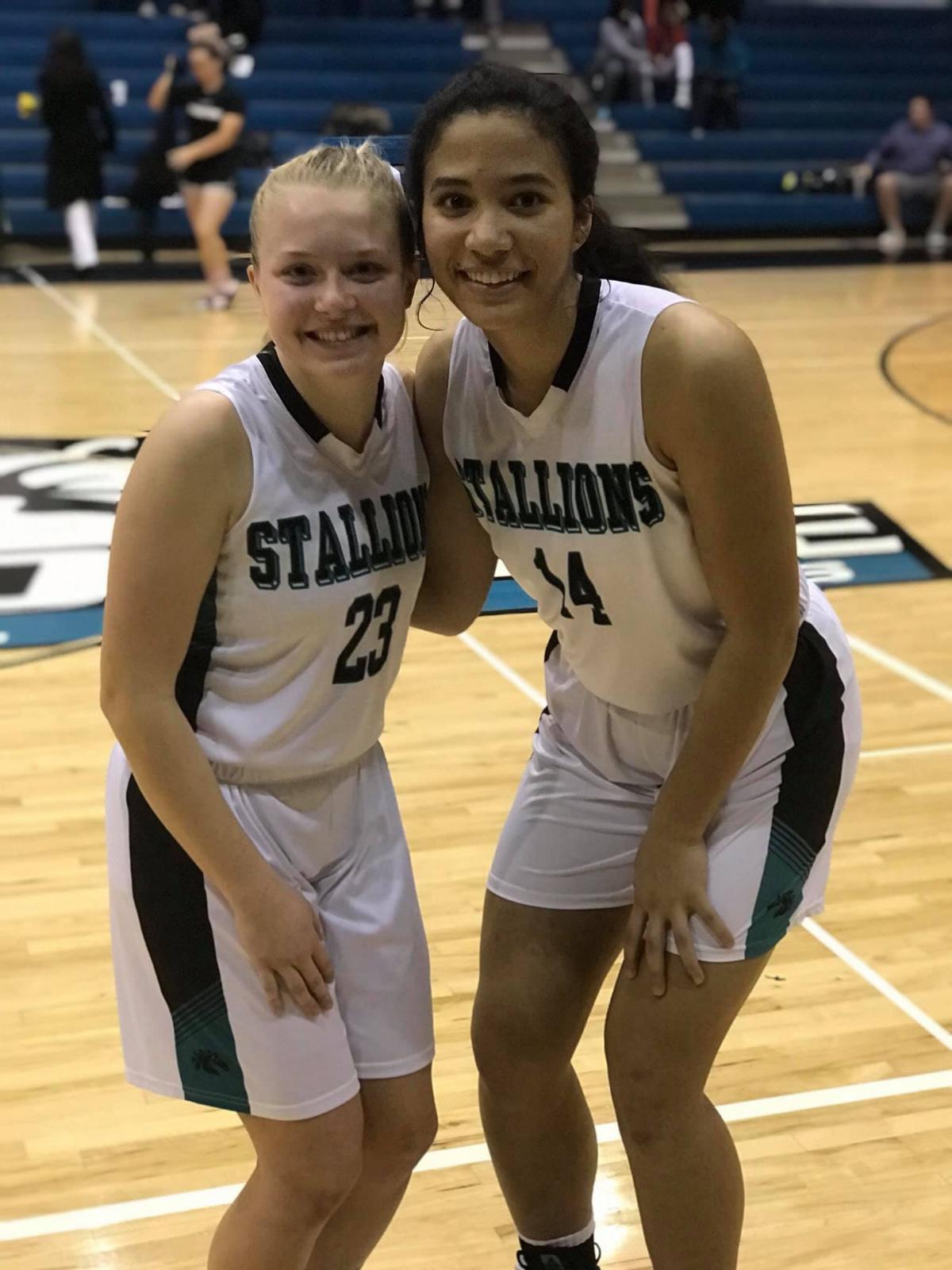 2019 Girls' Basketball Senior Night