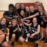 Lady Stallions Middle School Basketball Brings Home the Trophy