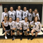 Middle School Volleyball Defeats Callahan Middle