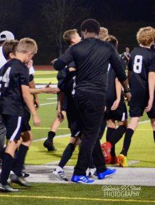 Boys Middle School Soccer vs Lake City- Won 2-0
