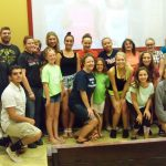 Fridley Volleyball Serves at FMSC