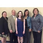 Payton West receives Athena Award