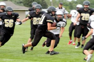 Freshman Football home vs Roseville 8-27-15