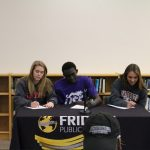 Three Tigers Sign for Division II