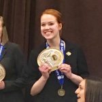 Maggie Bergman is State Champion in Speech