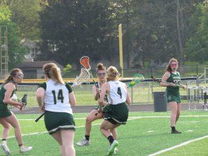 Varsity Girls Lacrosse vs. St. Vincent St. Mary 5/10/18