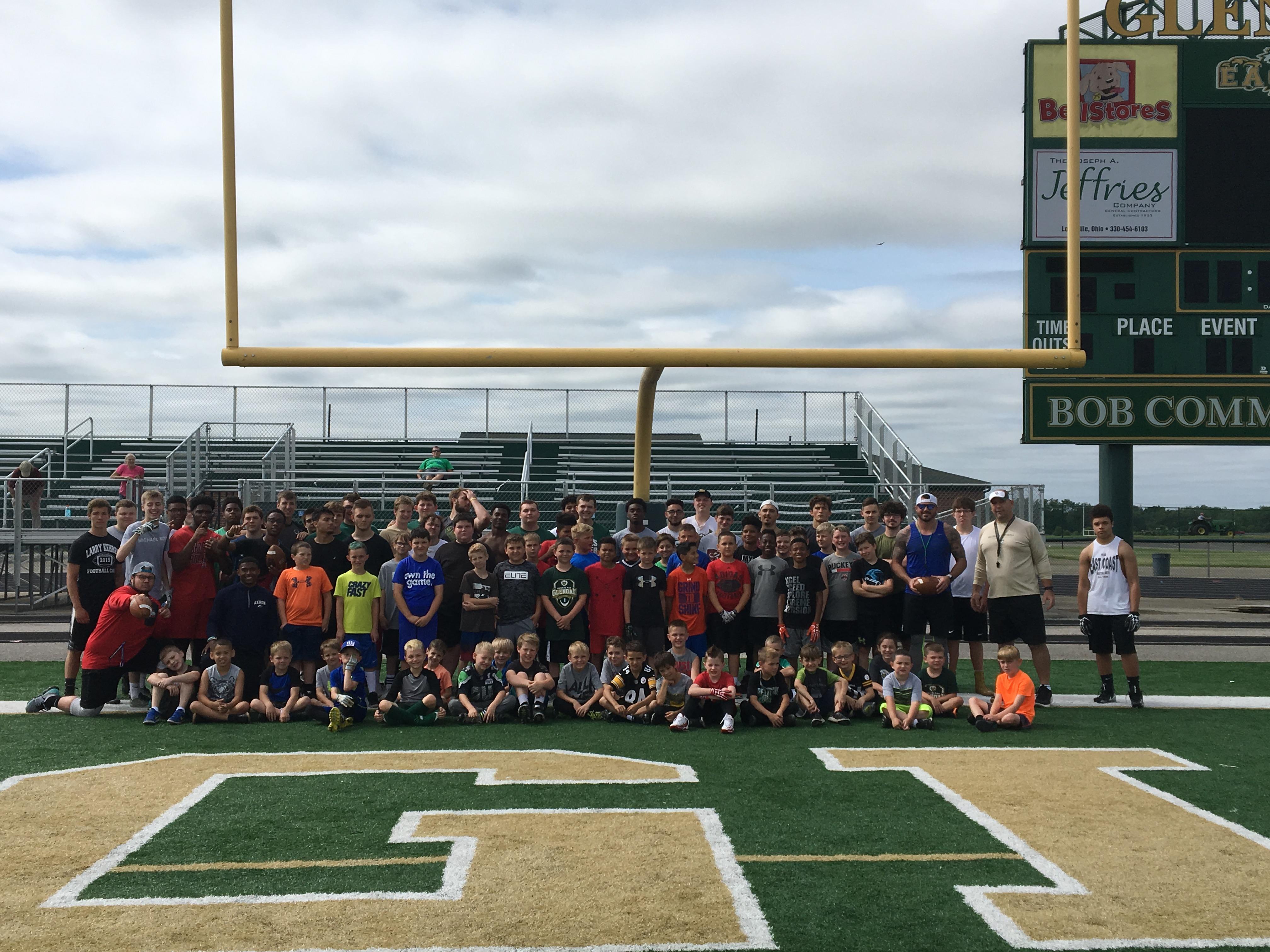 Dustin Fox/GlenOak Football Youth Camp