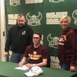 Congratulations to Blake Fonte, he just signed a Soccer Scholarship for Walsh University. Best of luck Blake!