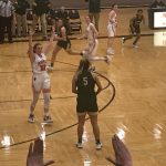 Girls basketball pictures against North Canton
