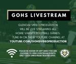 GlenOak vs.Louisville Football Game will be streamed live!
