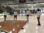 Senior night for Volleyball 2020. Good luck ladies!