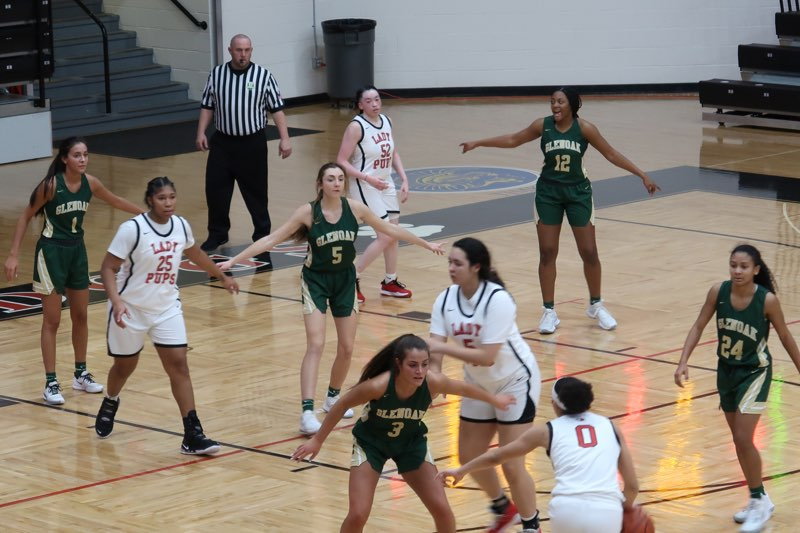 Lady Eagles- vs- McKinley basketball pictures.
