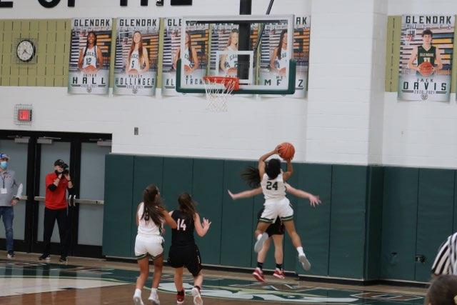 Girls basketball game against New Philadelphia. Great game ladies!!!