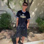 Clark's Cheerful Tennis player – Jonathan Kwok