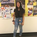 Jaeda Centeno – Varsity Flag's most impressive player
