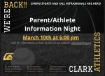 MISSED THE PARENT INFO NIGHT?