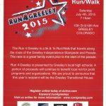 Run4Greeley 2015 5K/1K Run/Walk to Benefit Greeley HS XC Programs