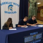 Three GWHS Student-Athletes Sign National Letters of Intent