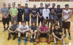 Boys Volleyball Alumni Night