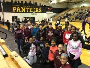 MS Girls Basketball Visits Ohio Dominican