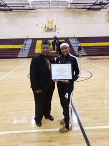 MS Basketball Player Reaches 700 points
