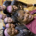 Licking Heights Central MS Girls 8th Grade wins big over Utica