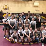 Hornet Wrestlers Compete Together