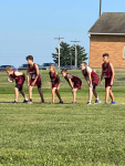 Middle School Boys Cross Country finishes 3rd at Licking Valley