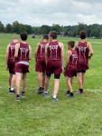 Middle School Boys Cross Country finishes 5th at Newark Catholic