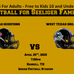 Haskell to Host MPFL Football Game for Seeliger Family April 25th