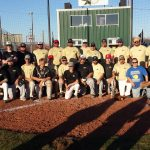 Haskell High School Varsity Baseball falls to Haskell Old Timers 16-5